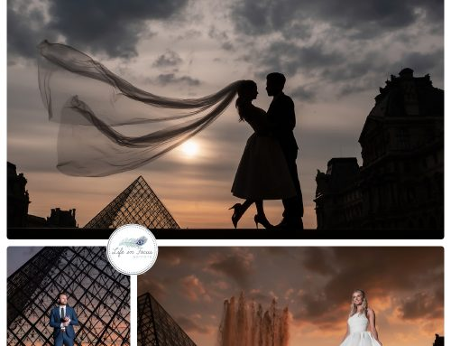 Wedding photos in Paris, destination wedding photography