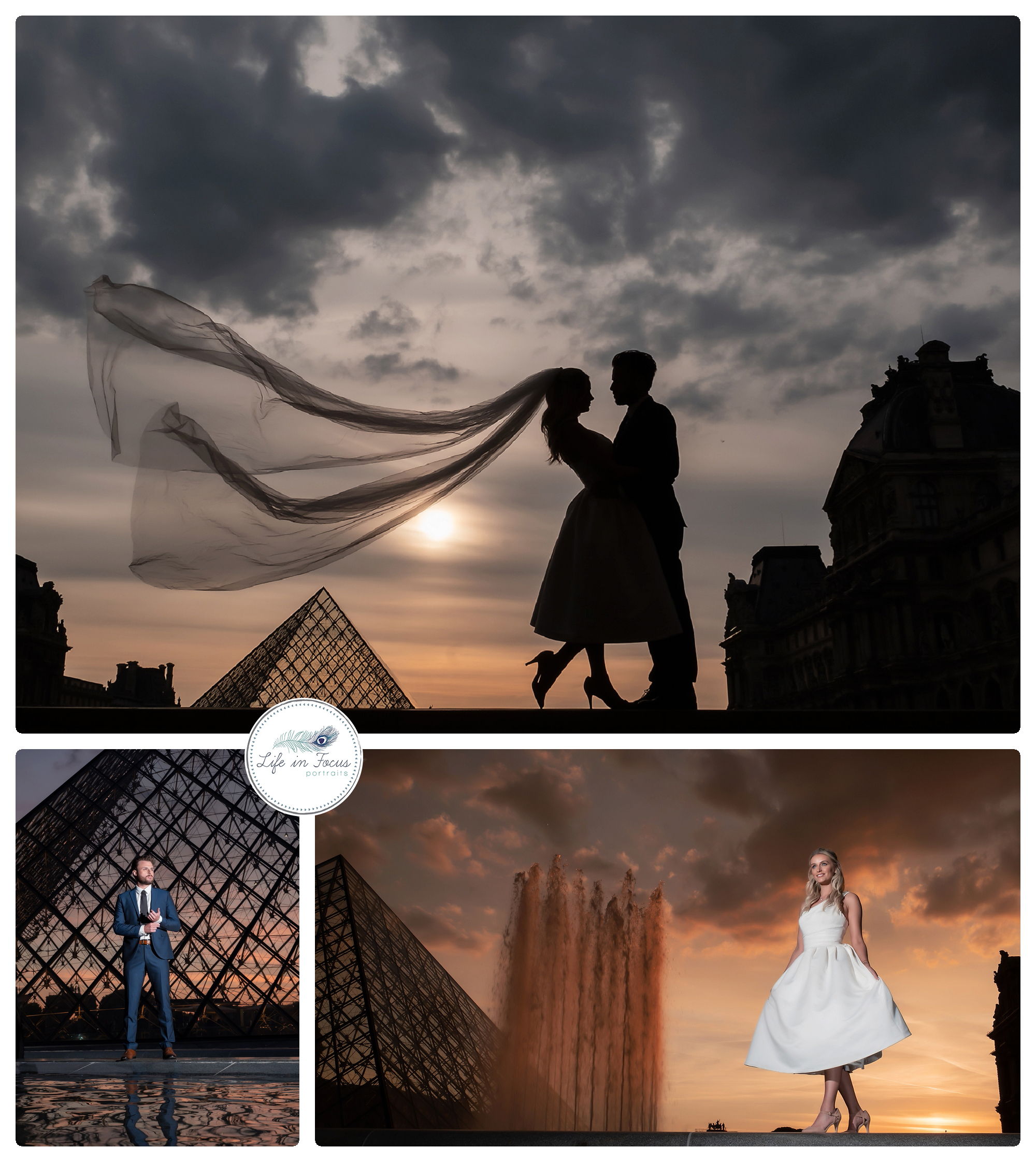 Wedding Photos at Musee De Louvre-Paris Destination Wedding photography Life in Focus Portraits Och Lomond wedding photography