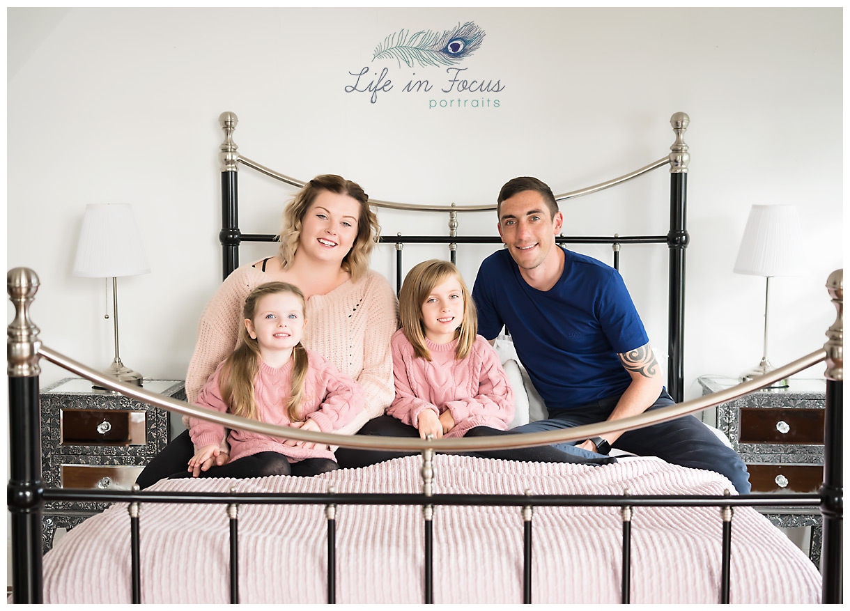 Lifestyle in home family photo session Life in Focus Portraits family photographer Cardross Dumbarton