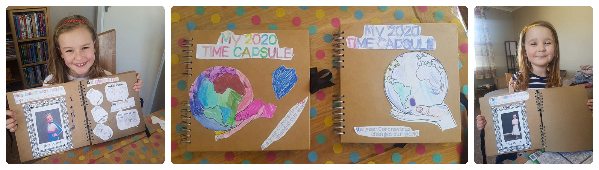 Time Capsule Scrapbooks Life in Focus Portraits 2020 Time Capsule Family Photographer Cardross