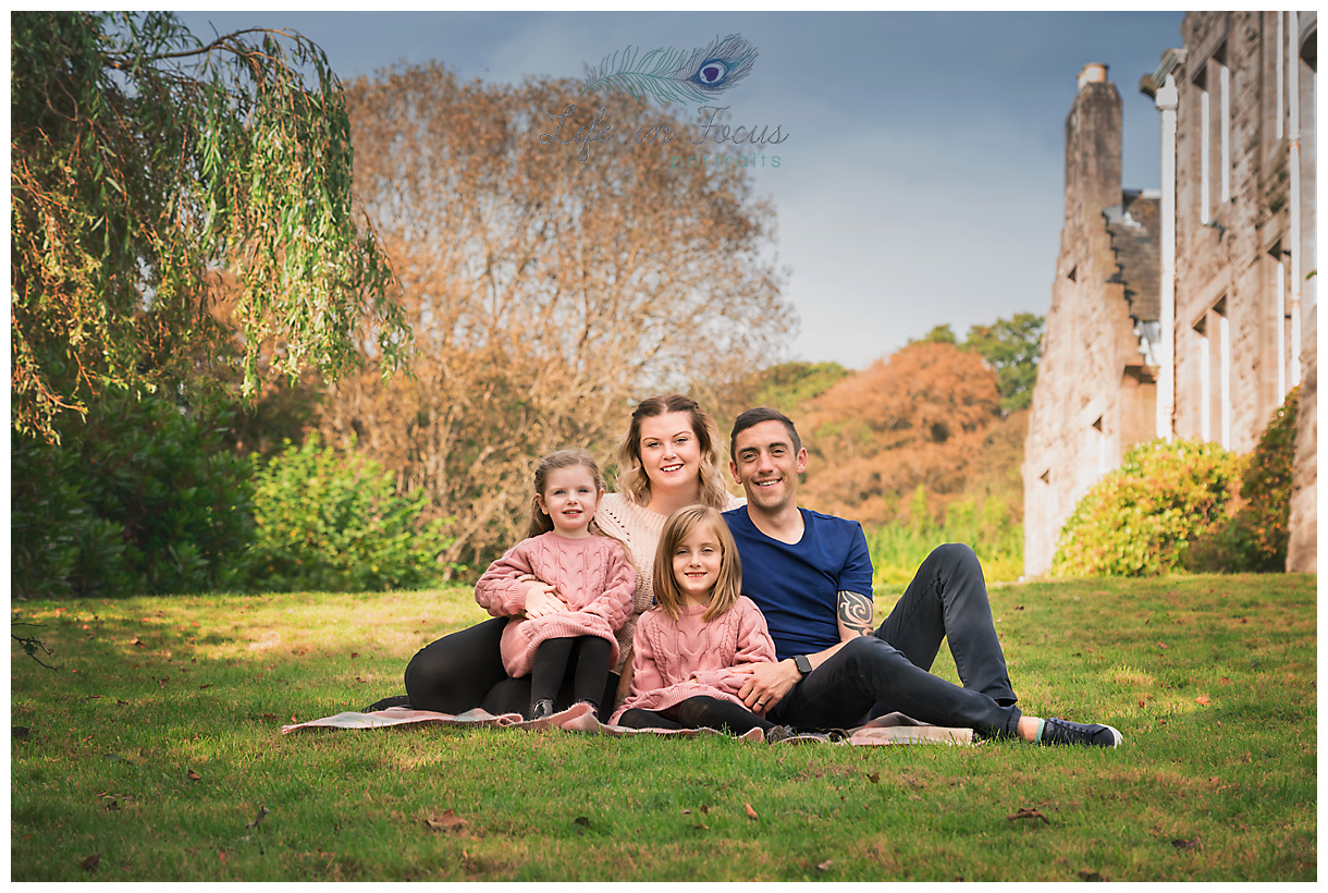 outdoor family portrait location family photograph Life in Focus Portraits family photographer Balloch Loch Lomond