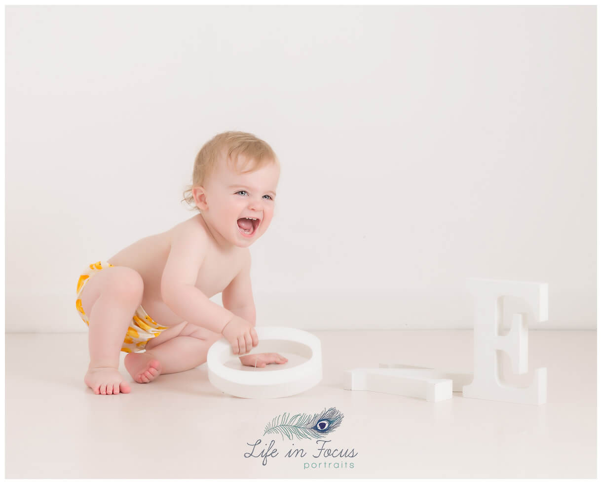 1st birthday photoshoot Life in Focus Portraits baby photography Cardross Dumbarton