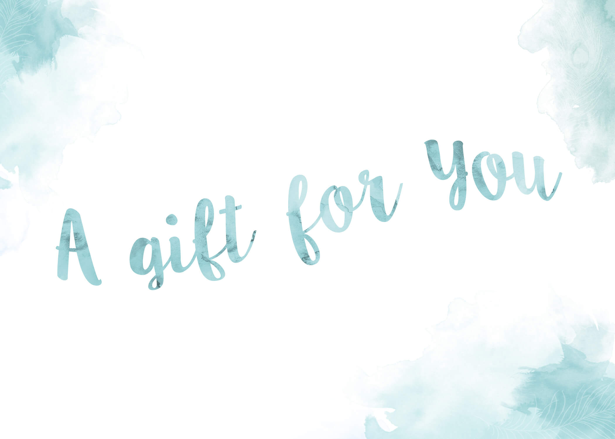 A gift for You gift certificate Life in Focus Portraits photography studio Rhu Helensburgh
