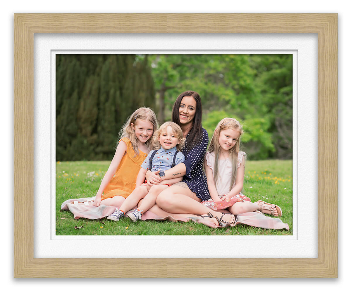 family portrait nurse with her young children Life in Focus Portraits outdoor family photographer Helensburgh