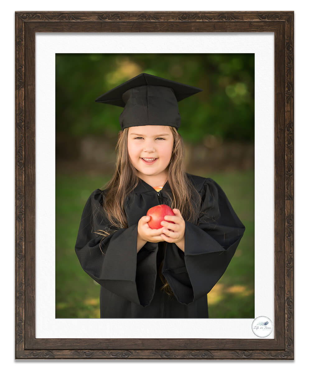 nursery graduation photo Life in Focus Portraits nursery and preschool photography Rhu Helensburgh Cardross