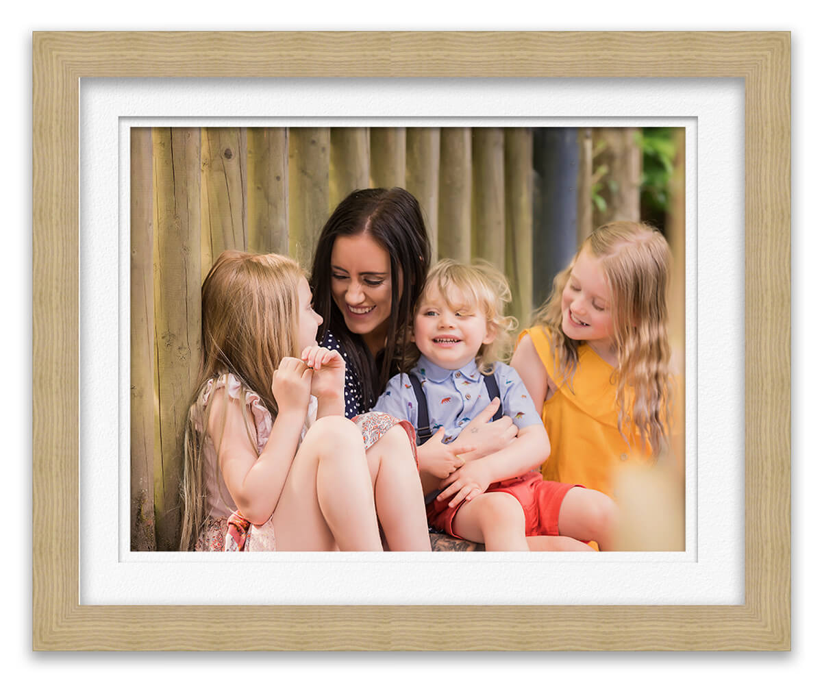 photo of children snuggling Mum in park Life in Focus Portraits outdoor family photoshoots Helensburgh