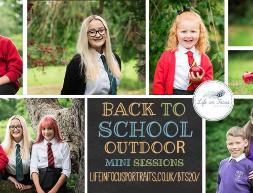 Back to School photos in Helensburgh